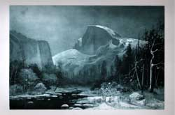 Winter in The Yosemite Valley